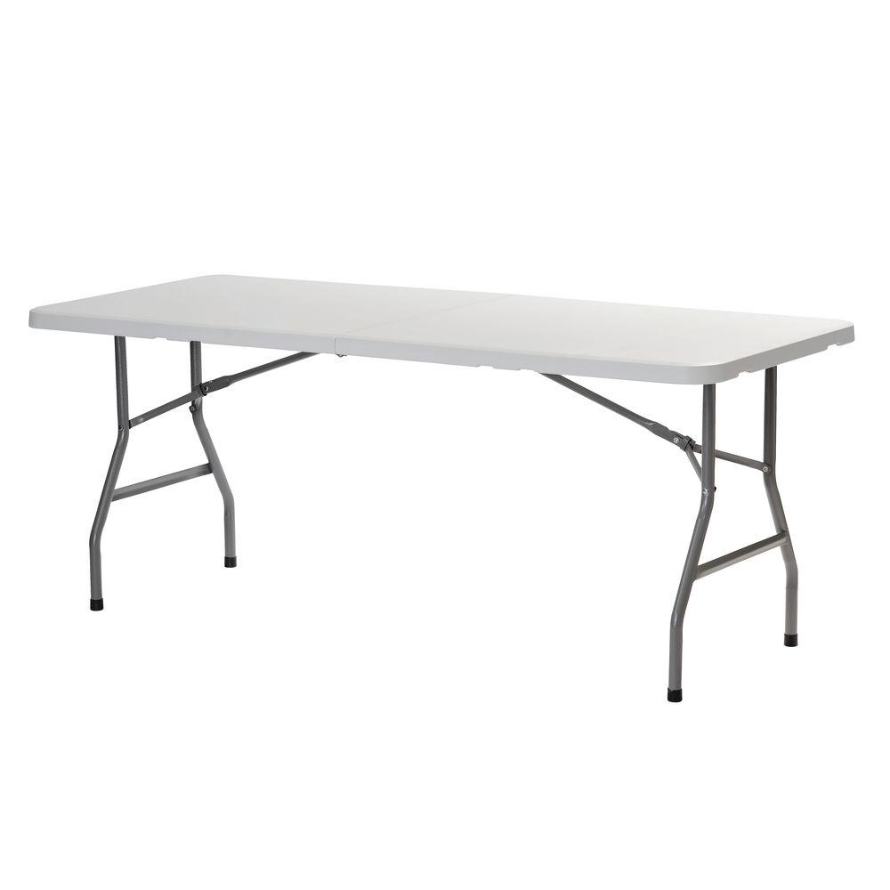 sandusky white folding table CPDBIZI