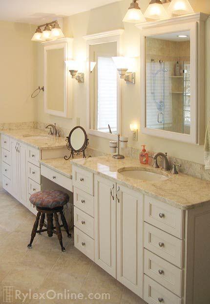 20 Savvy Bathroom Vanities and Vanity Storage Ideas |  Bath .