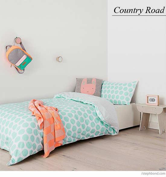 Scandi-meets-the-beach aesthetic design    10 great children's bedding - tinyme WPPMHCF