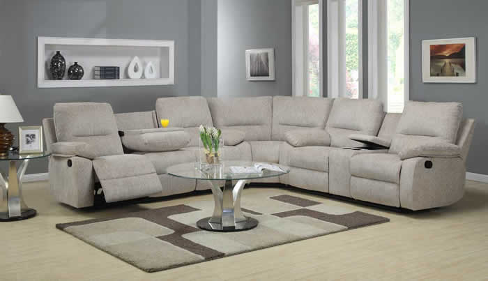 sectional sofas with armchairs ... decor: beautiful power sectional sofa 19 sectional sofas suitable combined with armchairs GRRAMOU