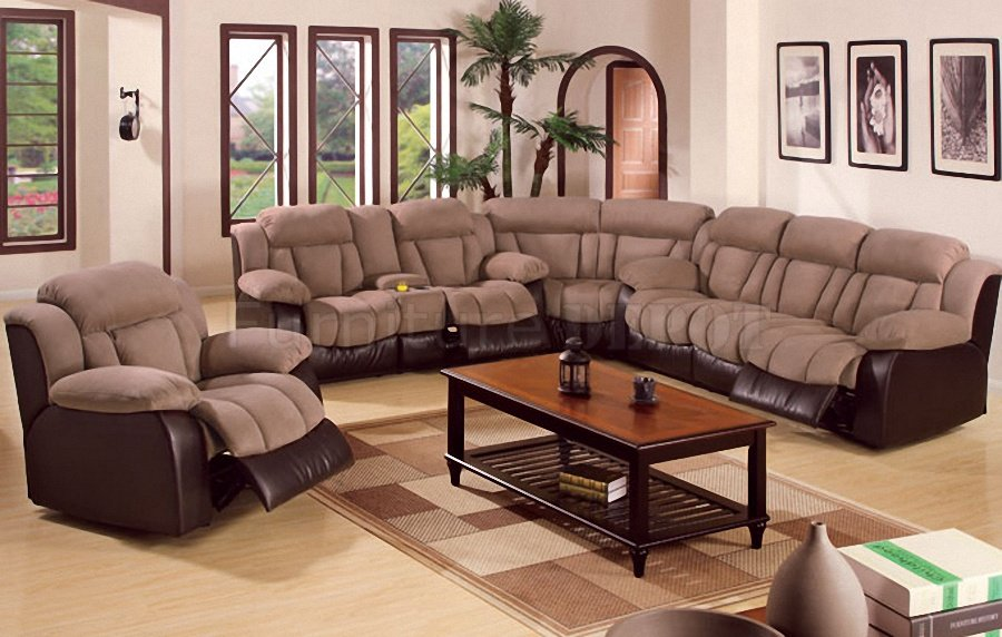 Sectional sofas with reclining armchairs adorable microfibre proportioned sofa with for reclining sofas YYZBICW