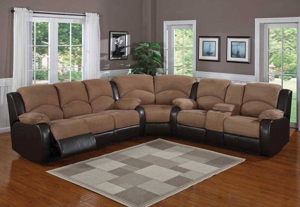 Sectional sofas with recliners Sectional sofas with recliners - 2 CLIQEZP