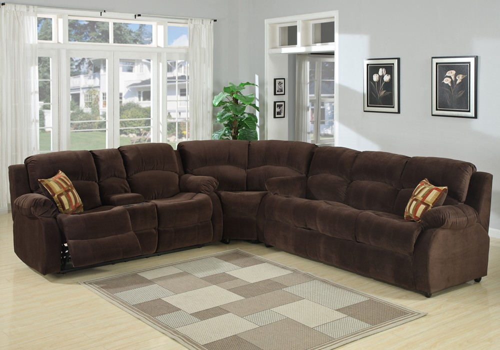 Sectional sofas with relax armchairs Tracey Recliner sofa bed JWVFEUQ