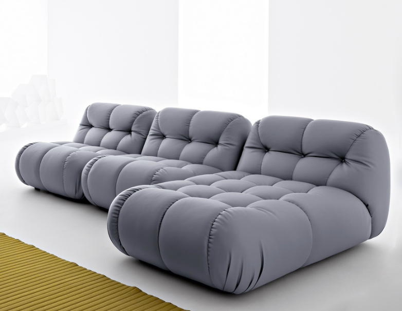 sexy modular sofa with extra deep tufting EOBYBLY
