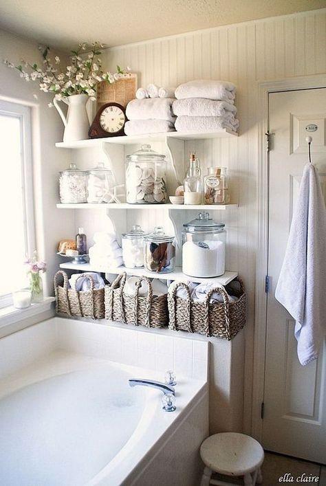 25 fantastic bathroom ideas in shabby chic - for creative juice