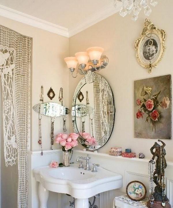50+ Amazing Shabby Chic Bathroom Ideas - Noted Li