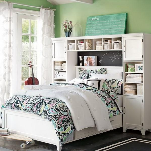 Shabby chic bedroom furniture for girls KRKULAL