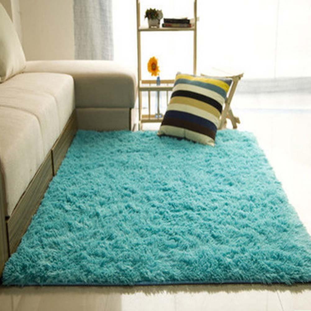 Shaggy carpets Fluffy carpets Non-slip deep pile carpet Dining room carpet Floor mats XLWHXAD