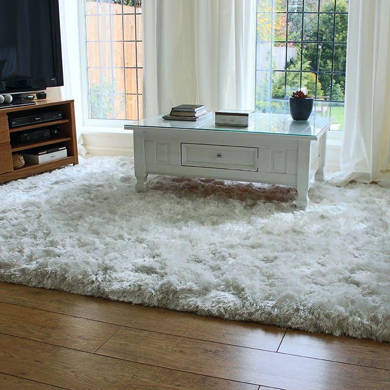 Shaggy carpets thick area carpets attractive plush shag round carpet premium artificial fur soft QTZXGXO