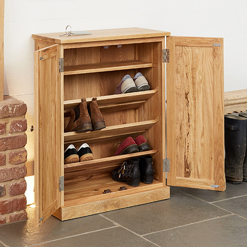 Shoe cabinet for up to 12 pairs of shoes DSQZSCO