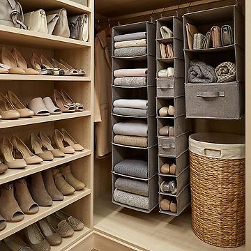Shoe storage hanging over the door · Boot storage GLMWPOZ