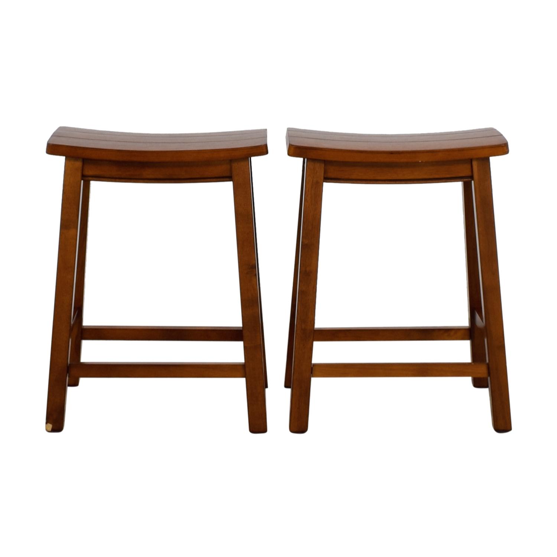 Buy vintage wooden bar stools online ... BBXBIIT