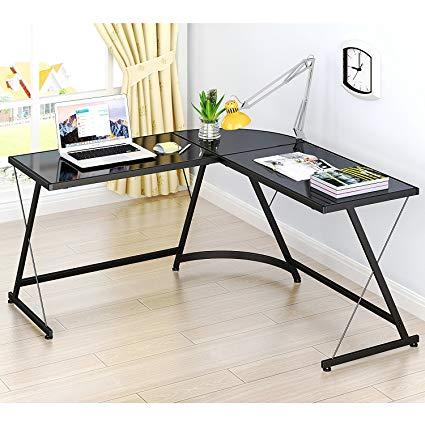 shw Home Office corner desk in L-shape SFBSNXL