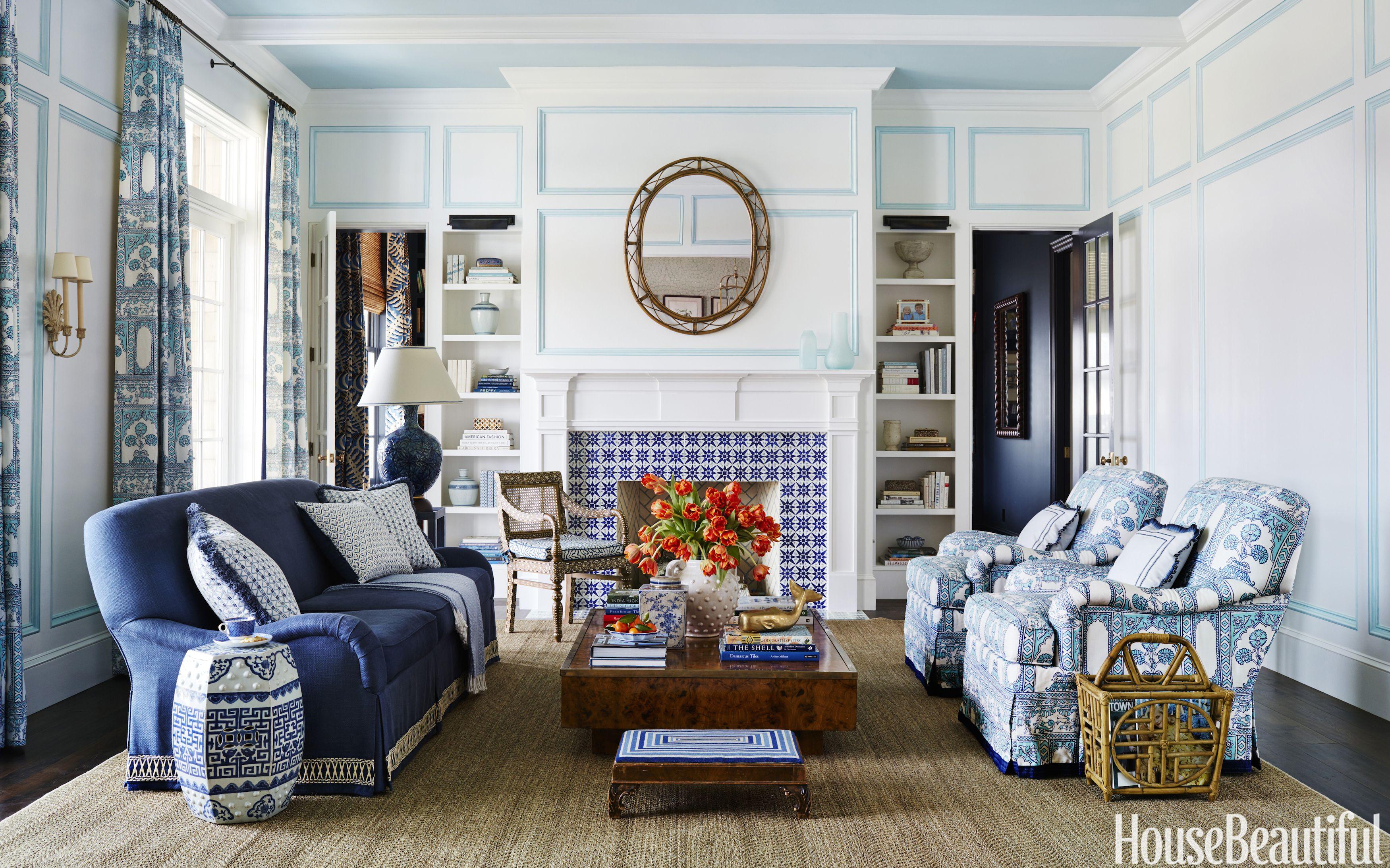 Living Room Designs 70 Best Living Room Decorating Ideas & Designs - housebeautiful.com FQKGWXC