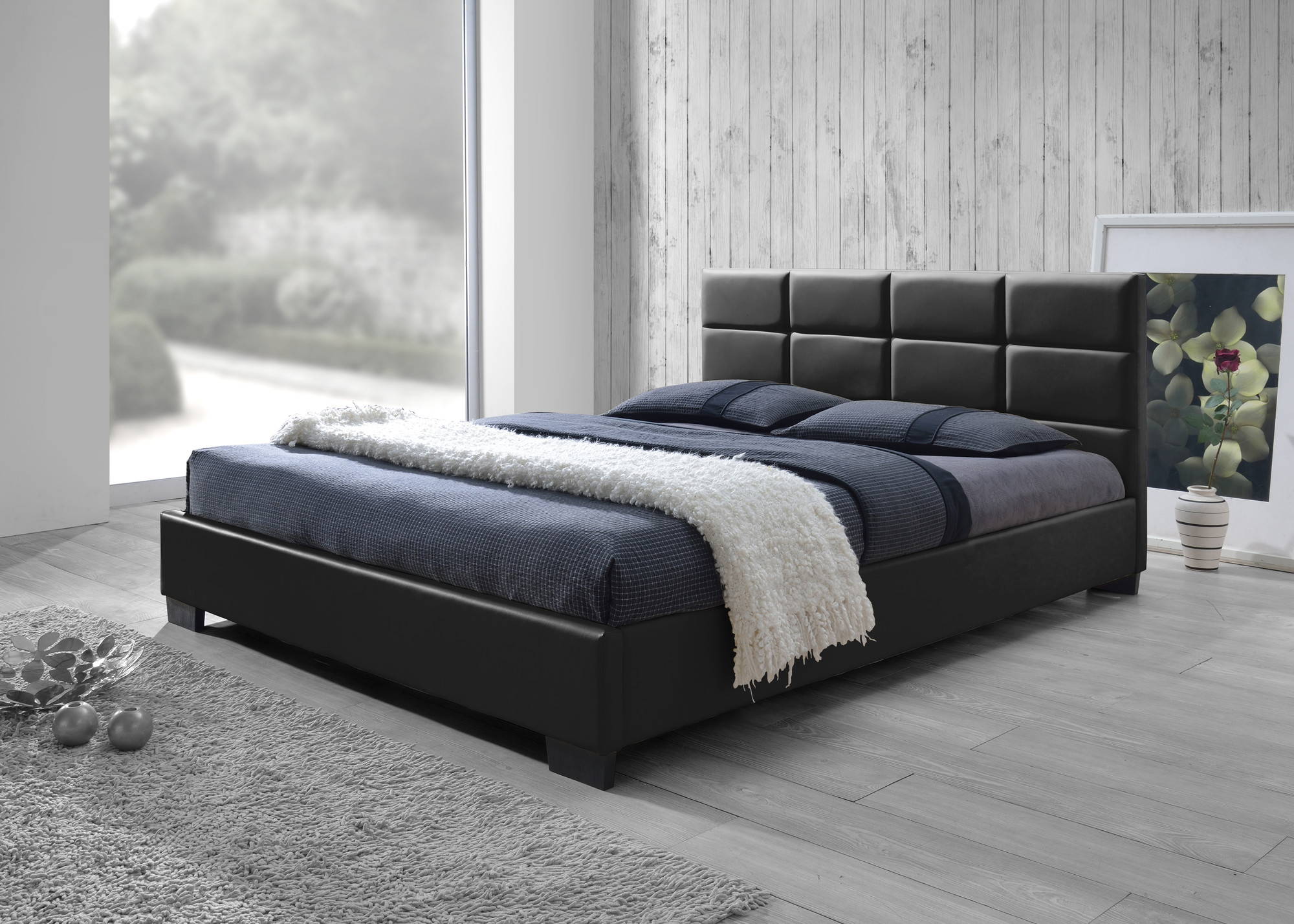 sku # iqki1034 pu liam upholstered queen-size bed frame is sometimes also listed RZSGDUB