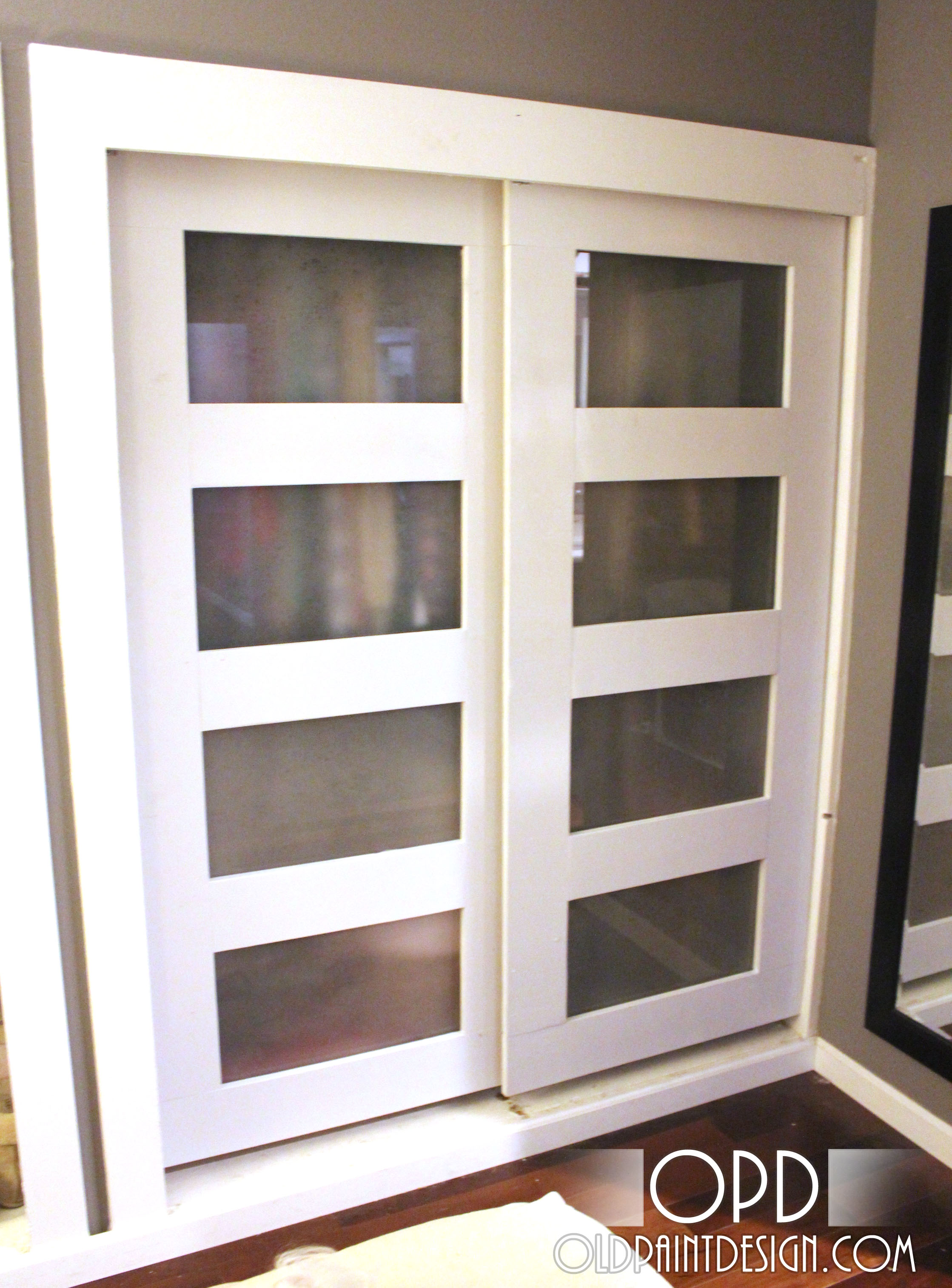 Sliding cabinet doors ana white    Bypassing Cabinet Doors - DIY Projects NWSNSKF