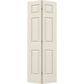 Sliding cabinet doors Reliable hollow-core molded double-fold cabinet interior door with FYKUAUH fittings