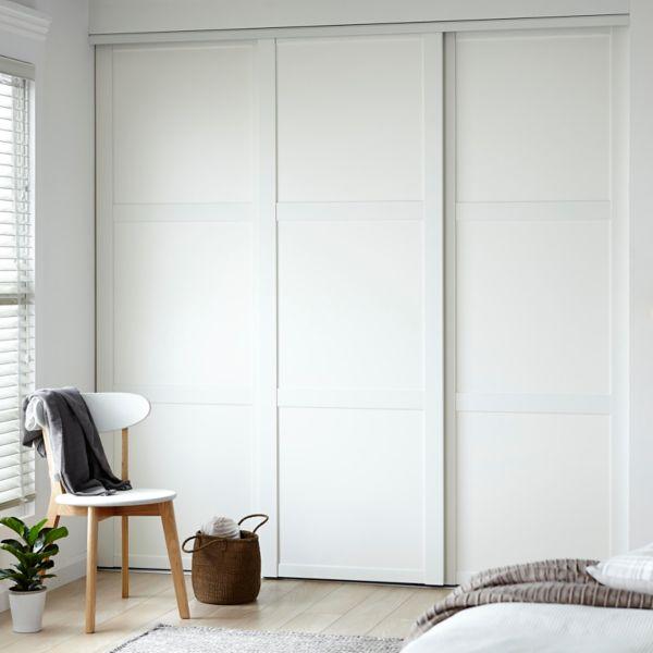 Sliding doors wardrobe Sliding doors inside continuous wardrobe idea 0 JVOJQLV