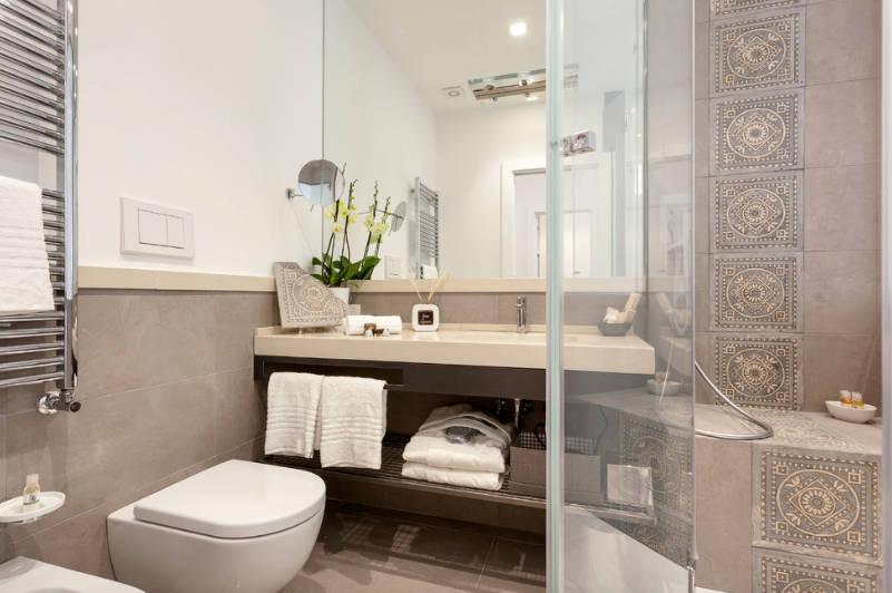 small bathroom design small bathroom tile - freshome.com FUCXJNH