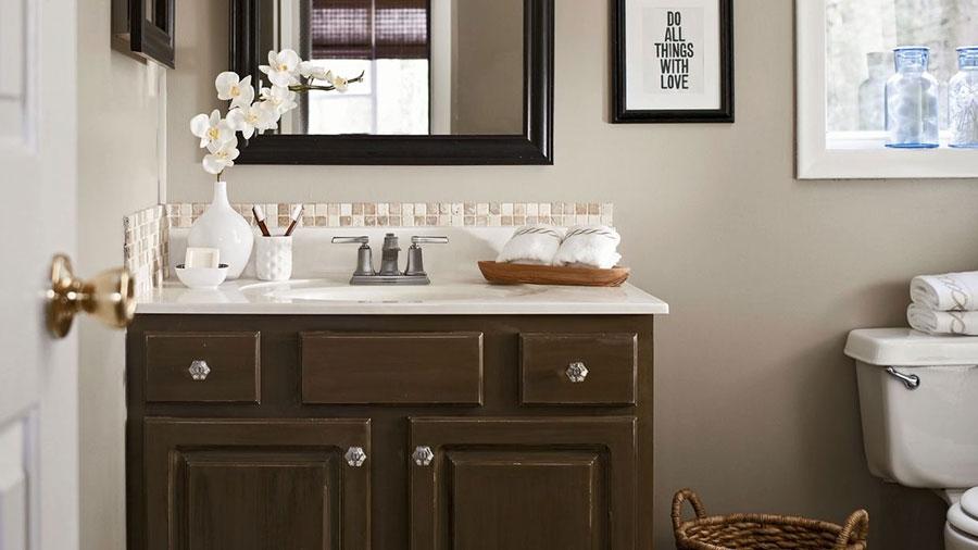 small bathroom beautification budget bathroom beautification    better houses & gardens PDRGTEA