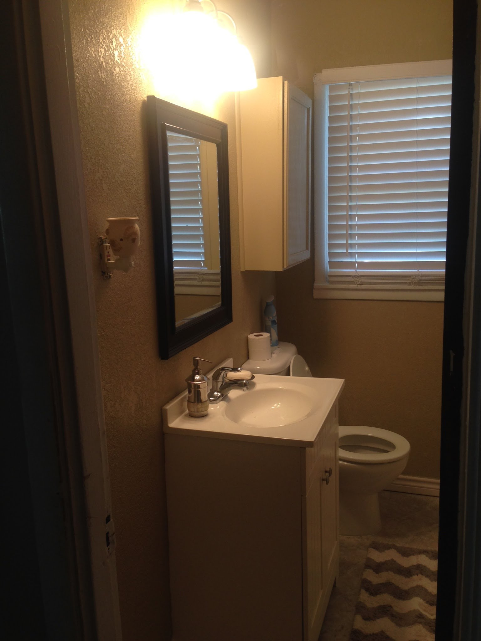 small bathroom makeover small bathroom makeover (must see) - youtube IPGVCHB