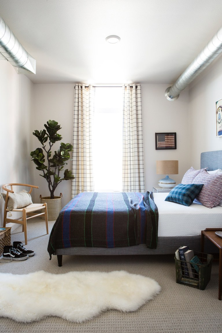 small bedroom designs curtains in small bedroom WVRWTRQ