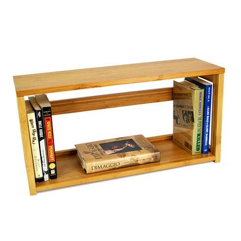 small bookshelf ... small stackable bamboo bookshelf & top ... HGWRVTM
