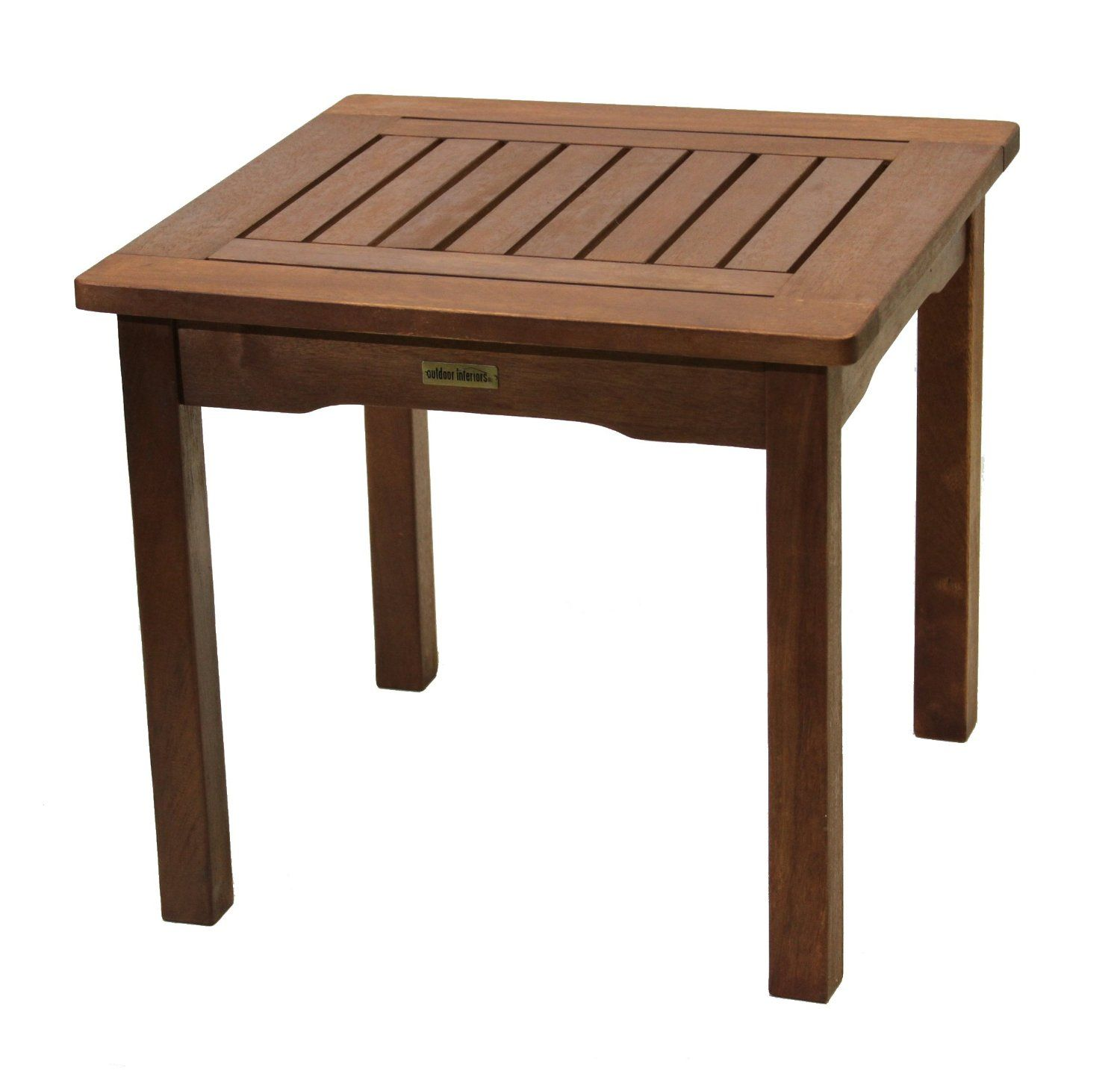 small garden table amazon.com: interior fittings for the outside area 19470 Eucalyptus side table: UNIFNHU terrace side
