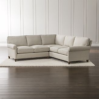 small add-on sofa montclair 2-part.  Corner sofa with roll arm on the right ZWNECVG