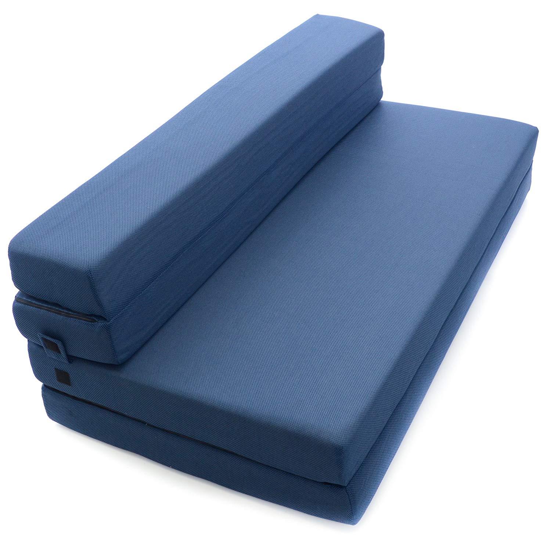 Sofa bed mattress amazon.com: Billion tri-fold foam folding mattress and sofa bed for guests JDCAHJY