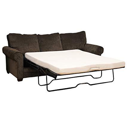 Sleeper sofa mattress classic brands memory foam replacement sleeper sofa 4.5 inch mattress, queen size bed PQKUMGV