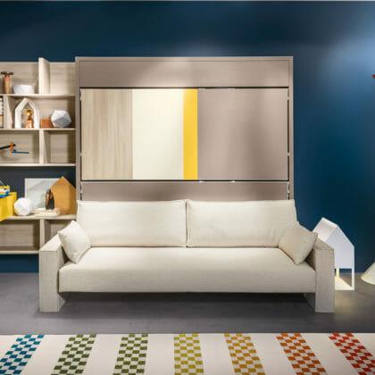 Sofa bunk bed bunk bed sofa ZAXNLCT