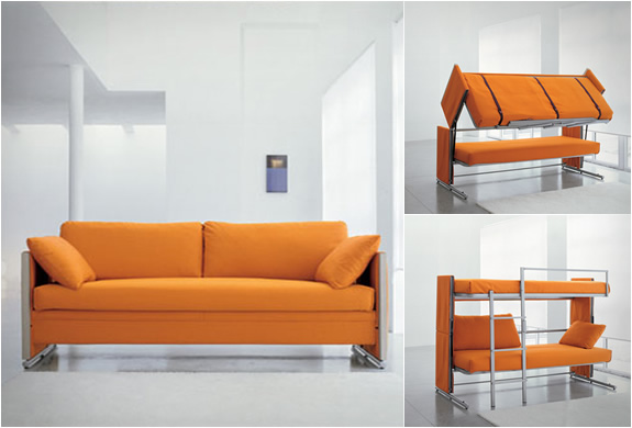 Sofa bunk bed |  Image CBNDQFR