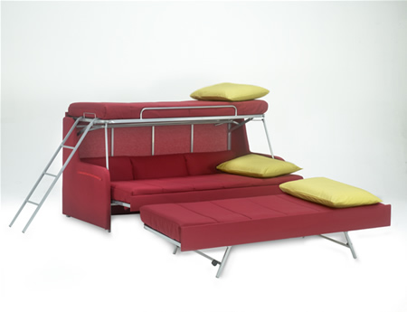 Sofa Bunk Bed For Kids