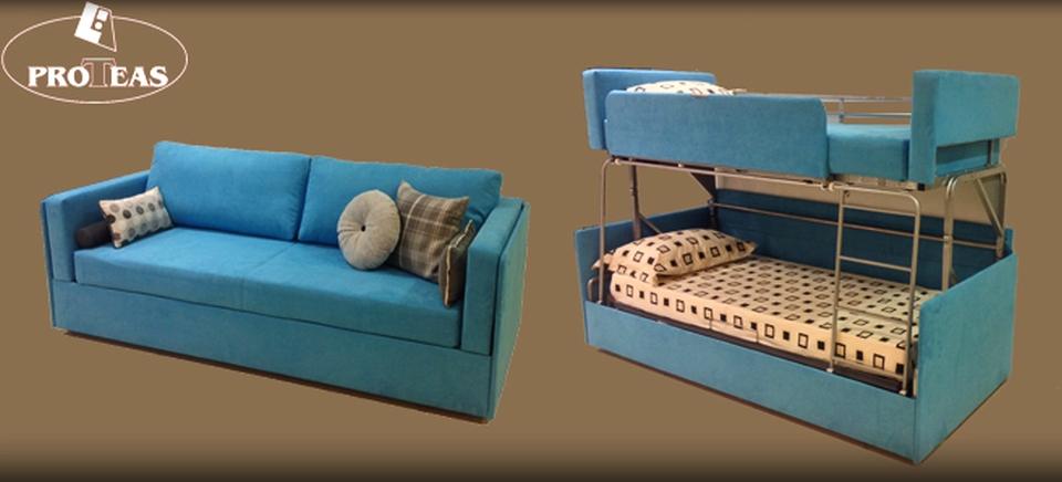Sofa bunk bed Twinny Couch transforms into bunk bed like its predecessor & Coupe Sofau0027 ILKVLCF