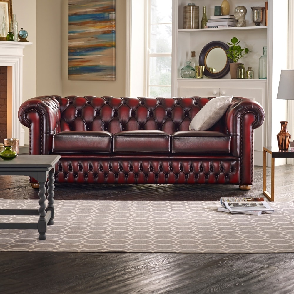 Chesterfield sofa Chesterfield 3-seater sofa CVPOELS