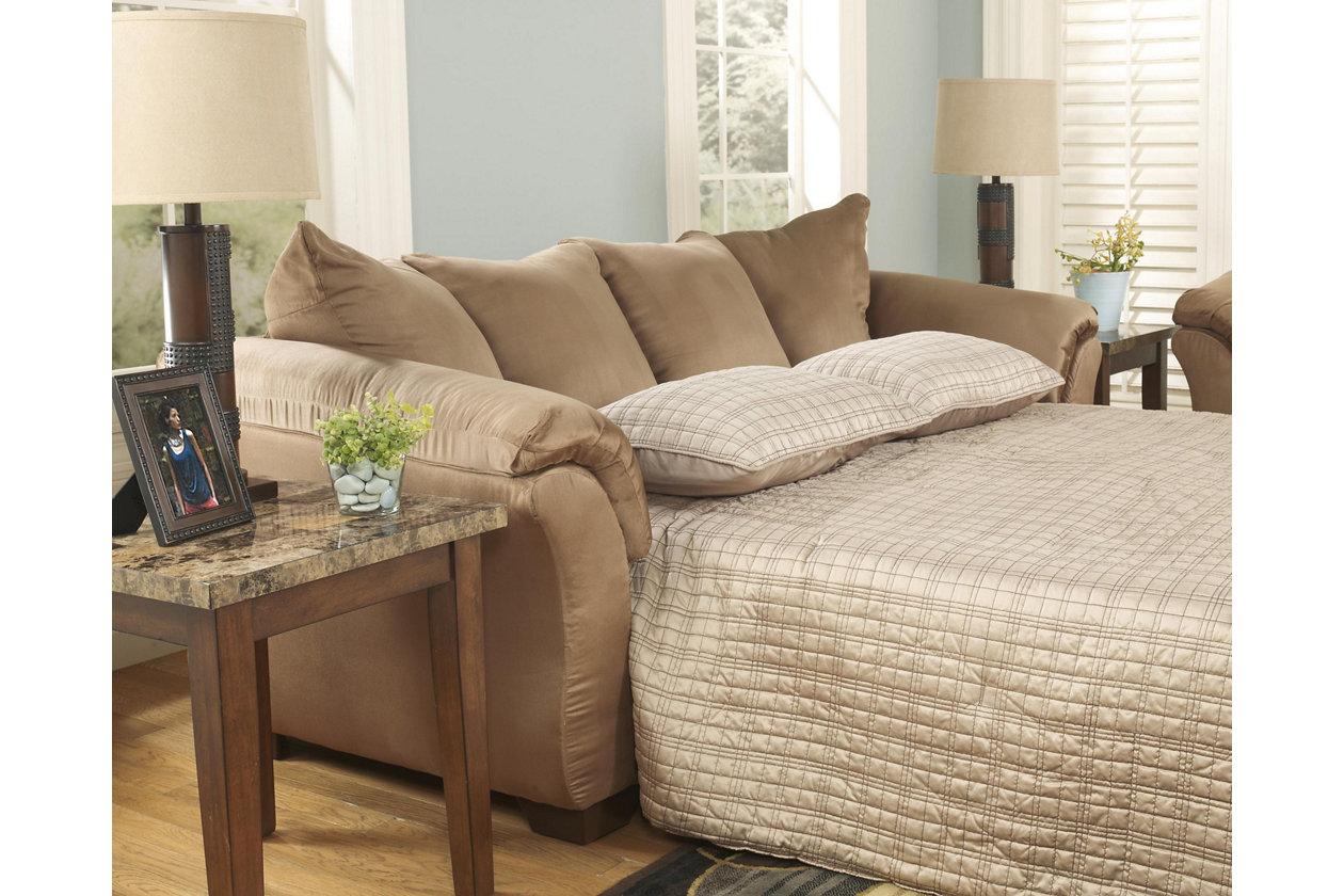 Sofa beds Signature Design by Ashley Darcy 7500236 Full sofa bed inmocha HLVGJOD