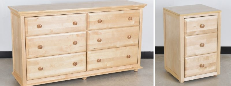 Children's chest of drawers with soft close & storage QVRLIVQ