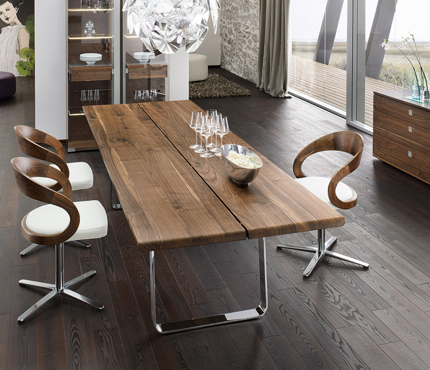 Dining table furniture made of solid wood UWRSMSX