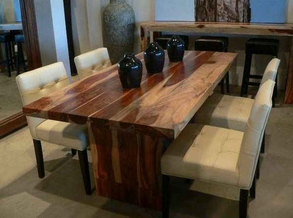 Solid wood dining table Modern solid wood dining table Custom-made dining table LNYOWZG
