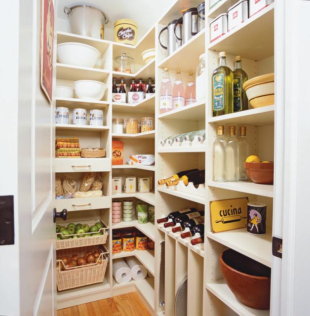 spacious kitchen pantry - riverside, ct traditional kitchen NTBDXLO