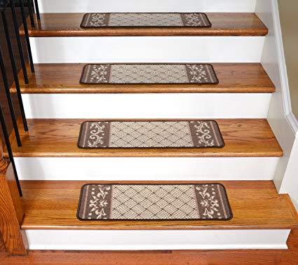 stair steps carpet carpet stair steps - caramel roll-up border SMENOLY