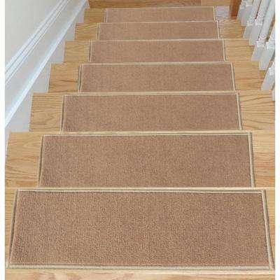 Stair treads carpet non-slip rubber stair treads TRIXUZA