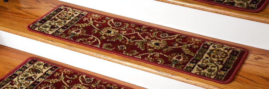 Stair treads carpet-free, animal-friendly stair treads PZGKYOY