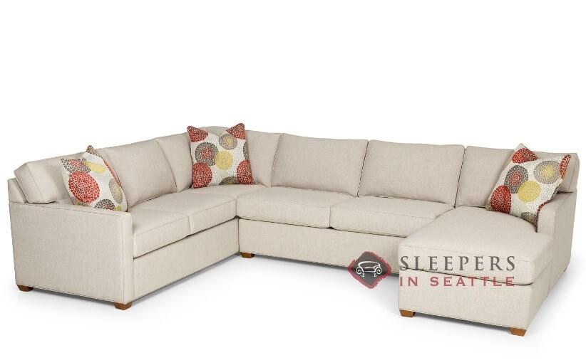Stanton 287 U Shape True Sectional Sofa Bed (Queen) UPMWODR