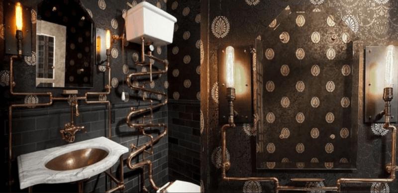 Steampunk Bathroom Ideas