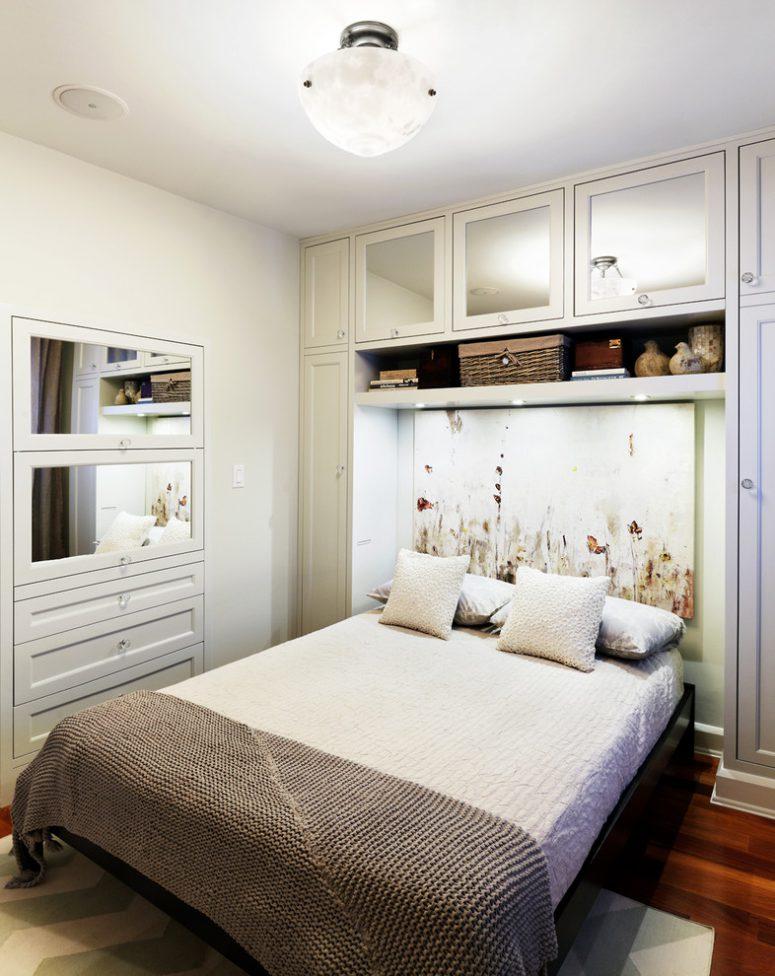 Small Bedroom Storage Ideas 57 smart bedroom storage ideas.  perfect design for a small bedroom where the bed MYUQMML