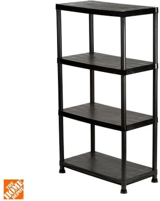 Storage shelves 4 shelves 15 inches dx 28 inches Wx 52 inches TPIPUWS
