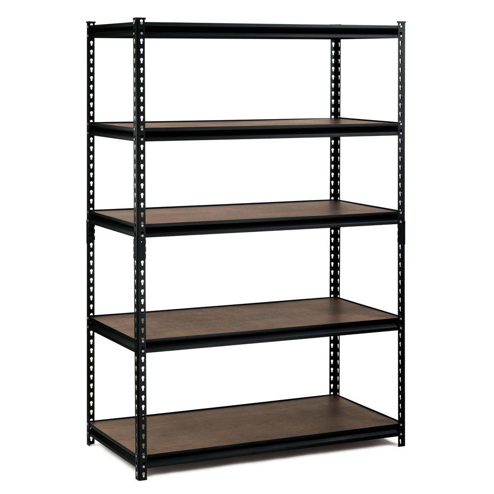 Storage shelving edsal 72 inches Hx 48 inches Wx 24 inches D EBHWQGS