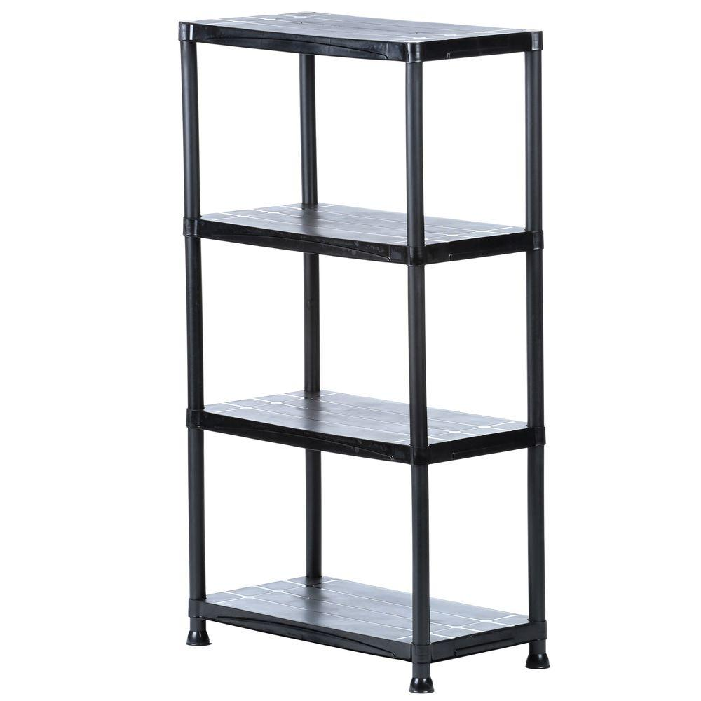 Storage shelving HDx 4-compartment 15 inch dx 28 inch Wx 52 inch APUHQED